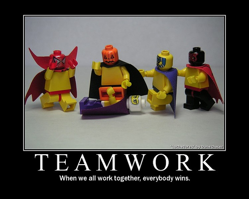 how to be a team player at work