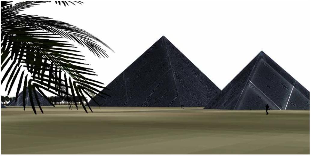 Solar Panel Pyramids Aiche