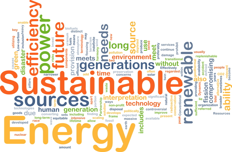 benefits of sustainability and developing the use of renewable sources of energy Renewable resources include solar energy, wind, falling water, the heat of the earth (geothermal), plant materials (biomass), waves, ocean currents of the benefits of renewable technologies can be very extensive, they can be categorized under four headings: environment, diversification, sustainability and economics.