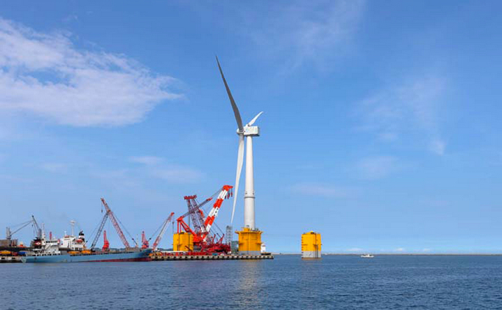 Japan Installs World's Largest Offshore Wind Turbine | AIChE