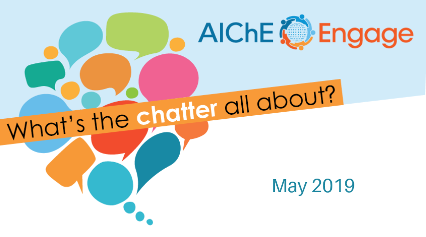 May 2019 Featured Engage Discussions