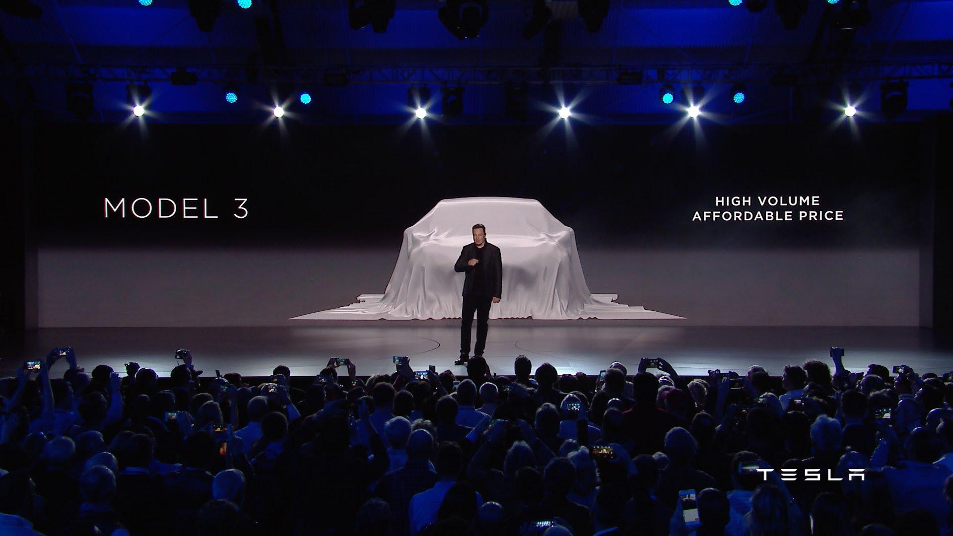 iPhone-Stalking Elon Musk's Tesla Model 3 Launch | AIChE