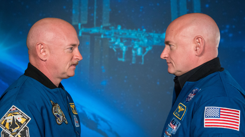 Twins Shed Light on Effects of Space Travel on Body