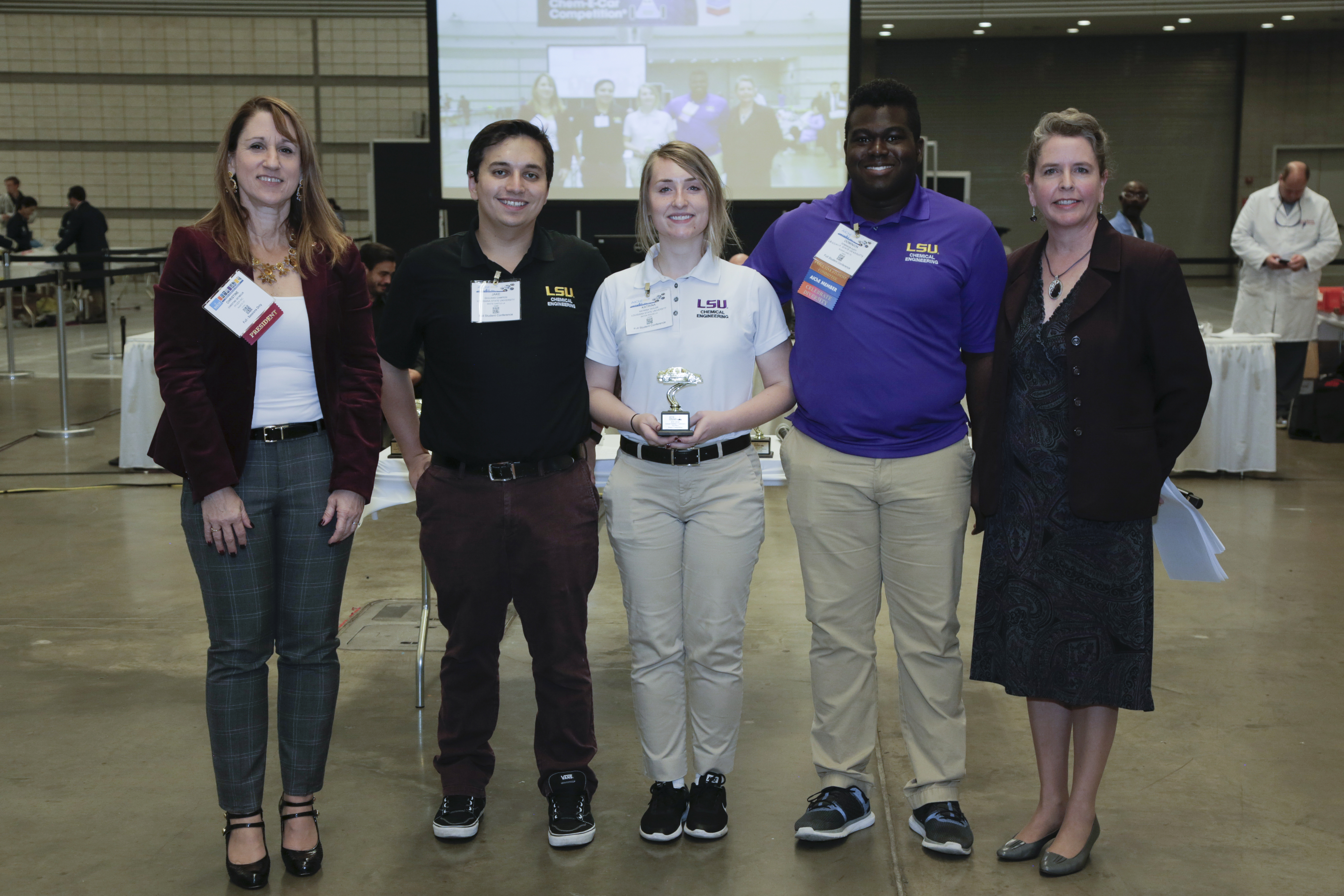 Louisiana State University, third place in poster competition