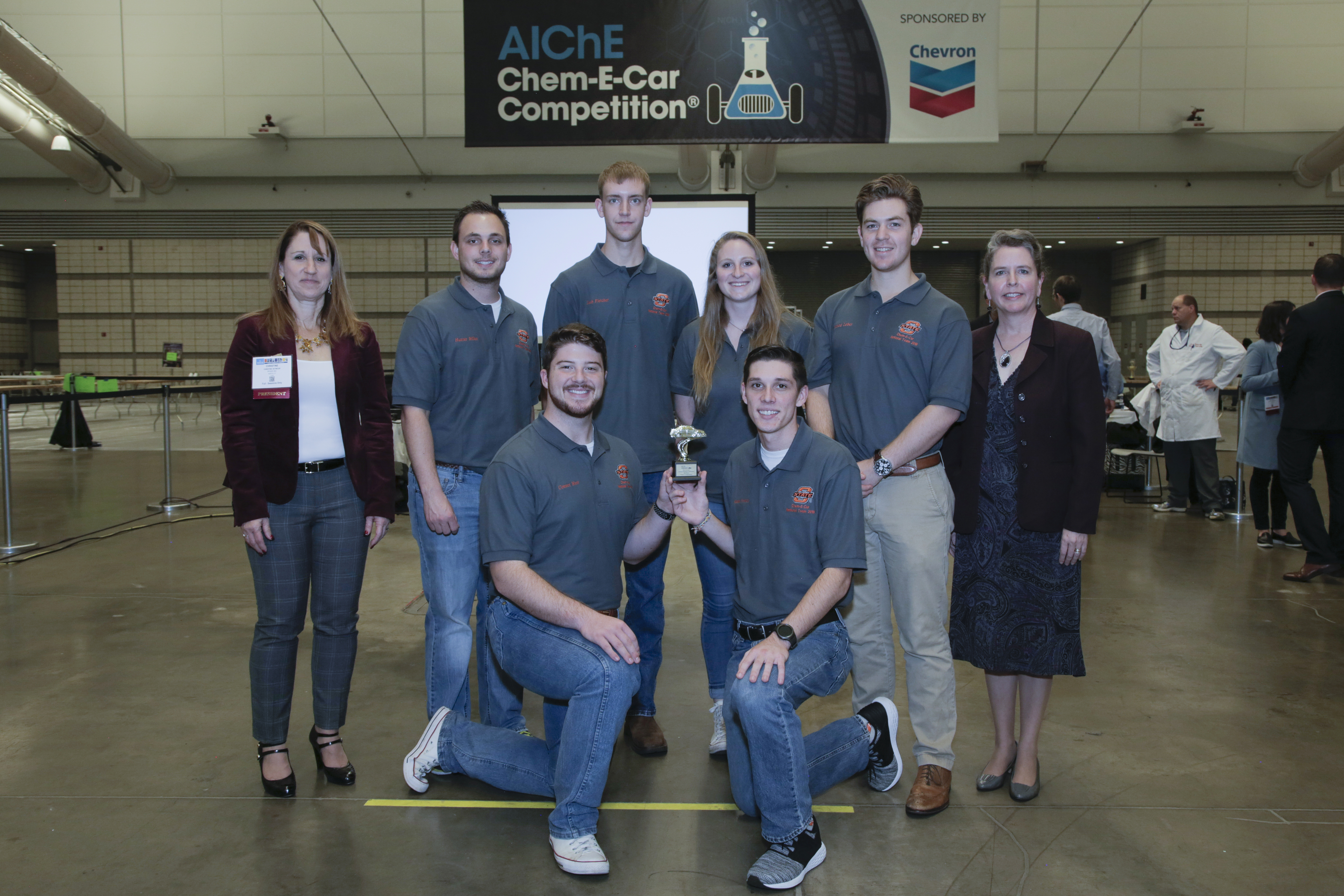 Oklahoma State University, fifth place in poster competition