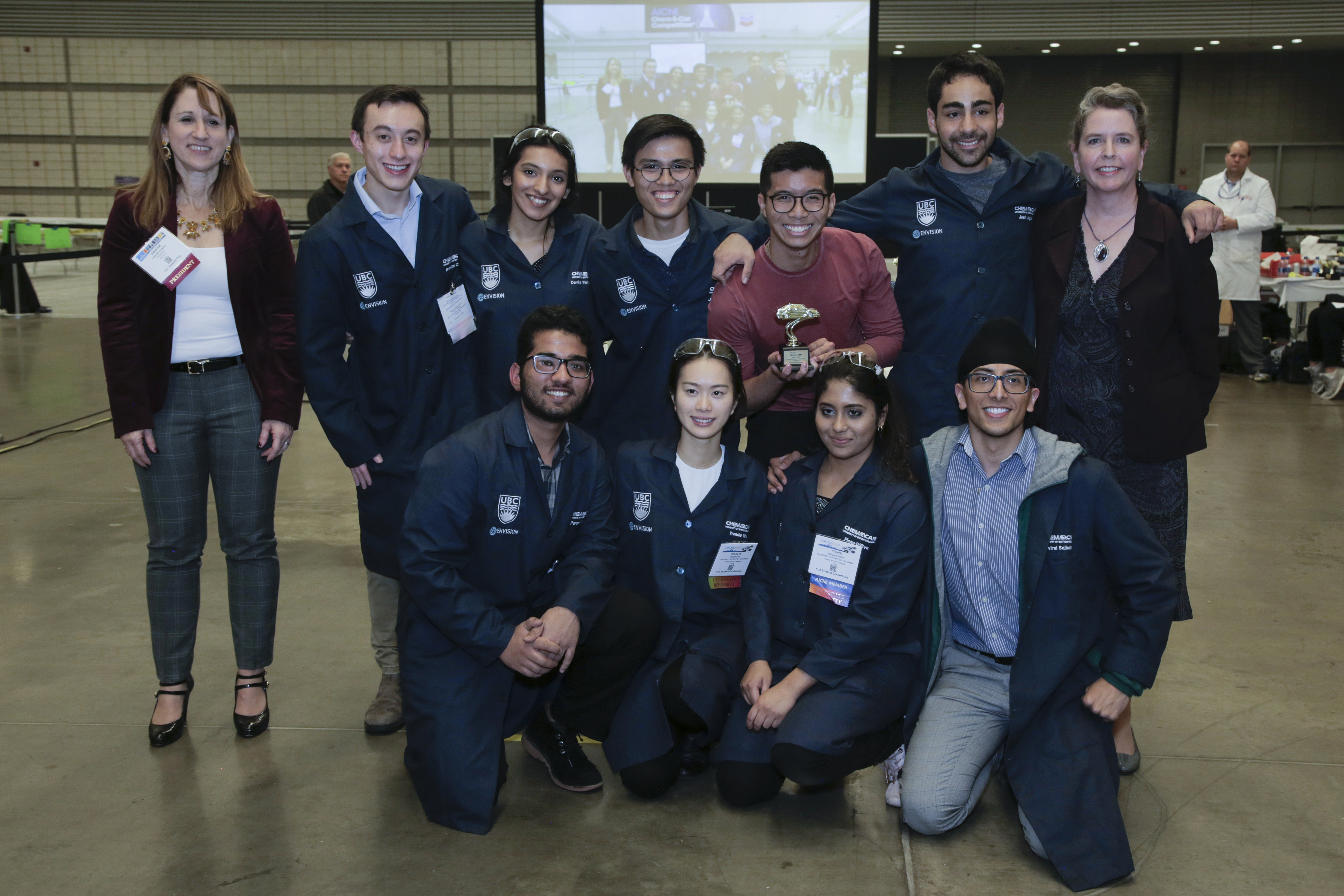 University of British Columbia, first place for poster competition