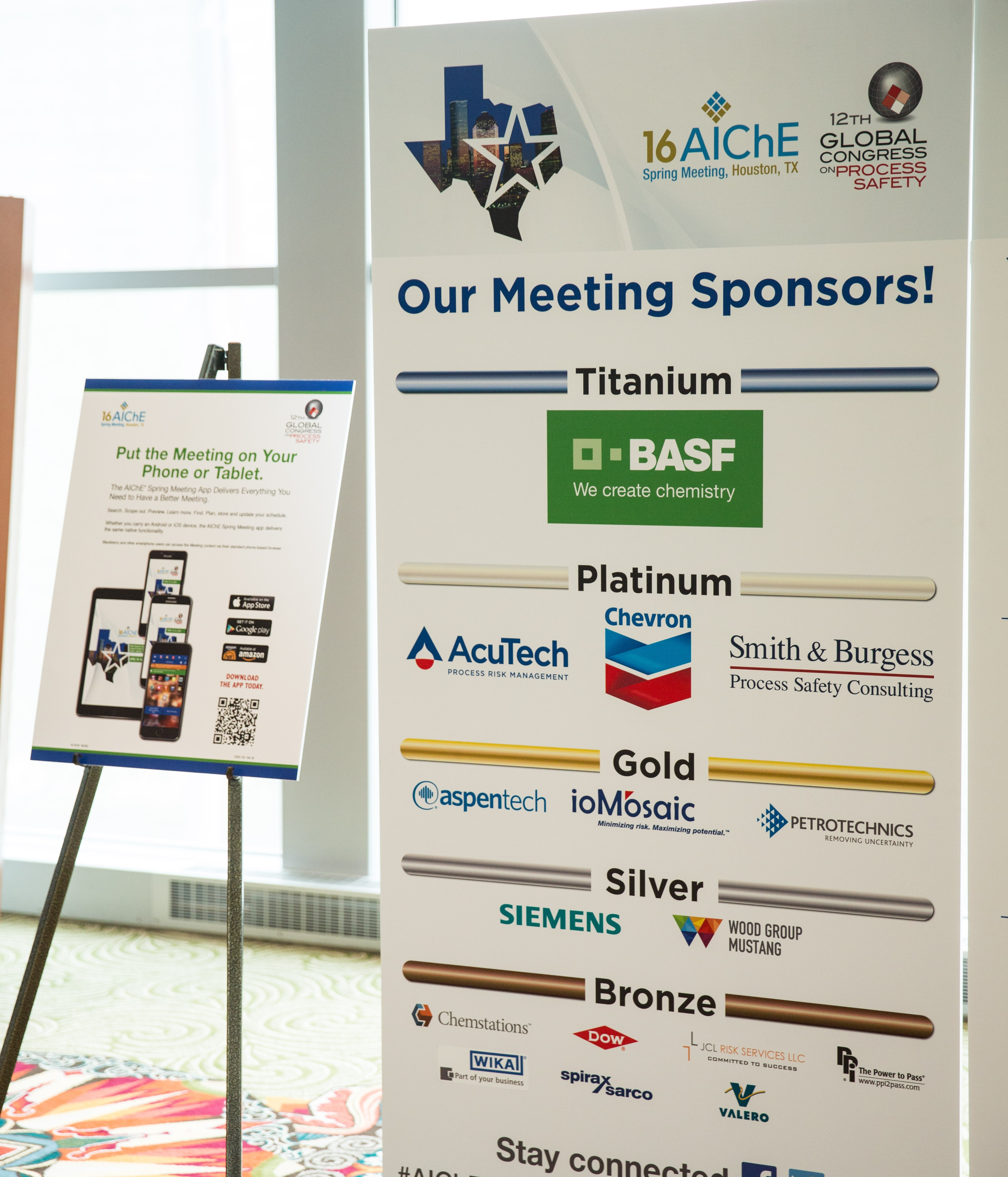 Become a Sponsor or Exhibitor of the WCPT8 | AIChE