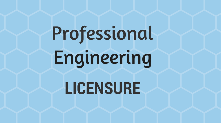 Aiche Professional Engineering Licensure
