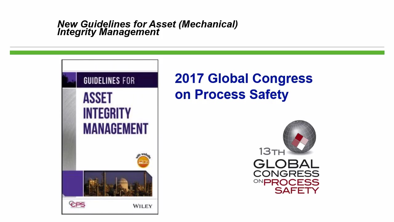 Asset Integrity And Reliability Aiche