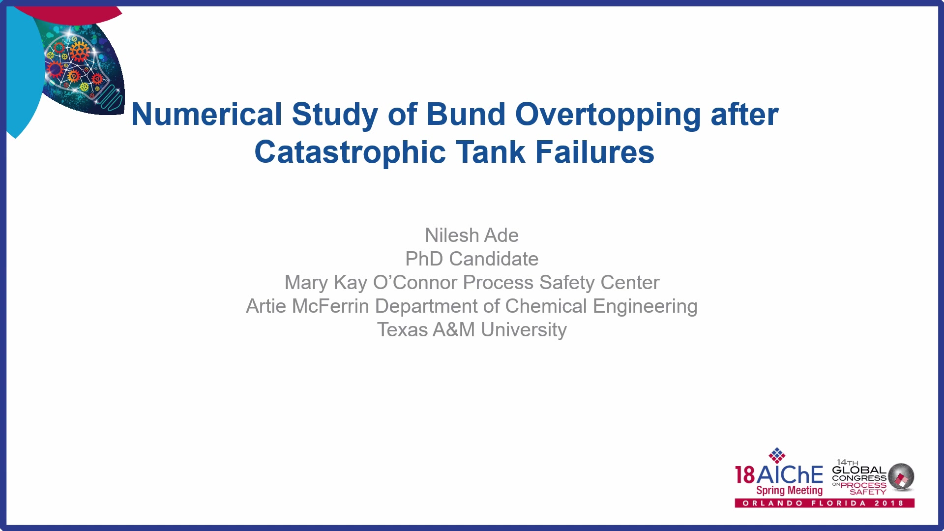 Numerical Study of Bund Overtopping after Catastrophic Tank