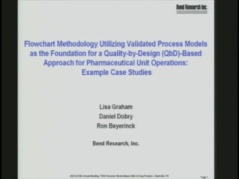 Flowchart Methodology Utilizing Validated Process Models As The