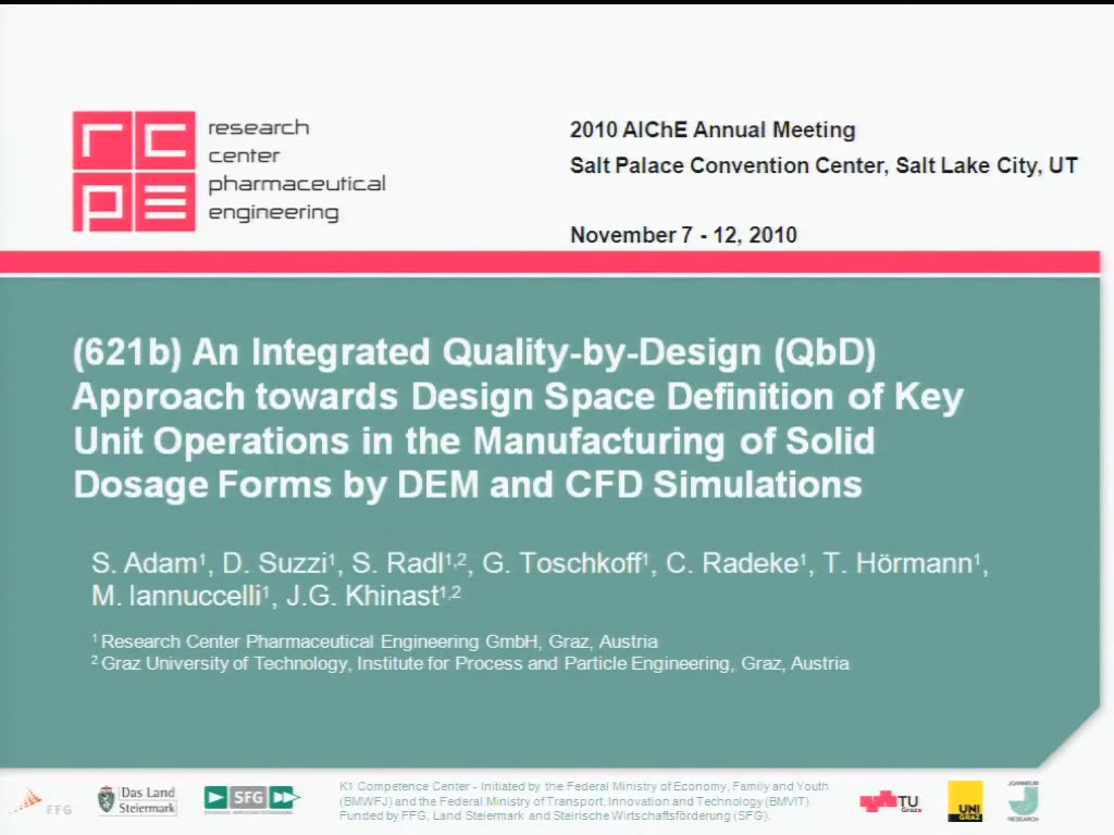 An integrated quality by design qbd approach towards for Quality of space in architecture