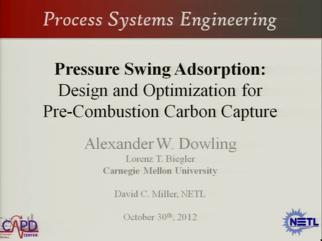 Pressure Swing Adsorption: Design and Optimization for Pre