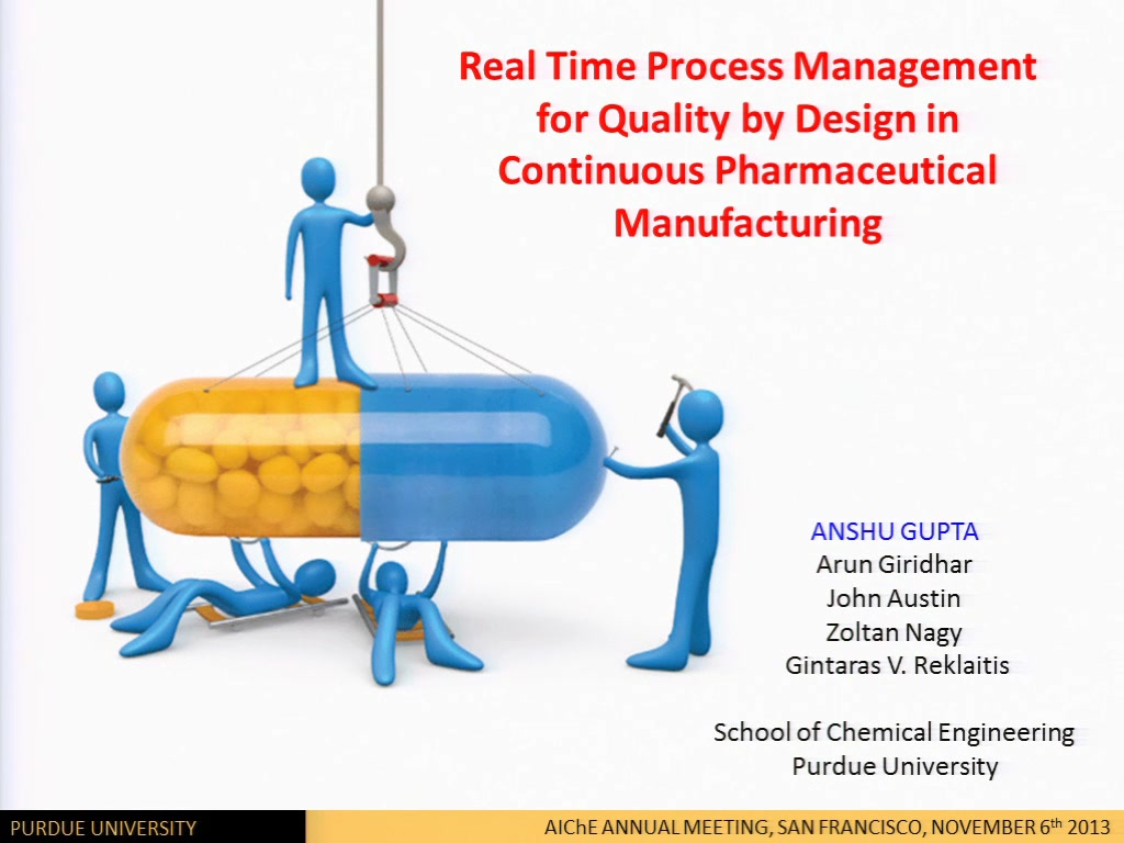 Real Time Process Management In A Continuous
