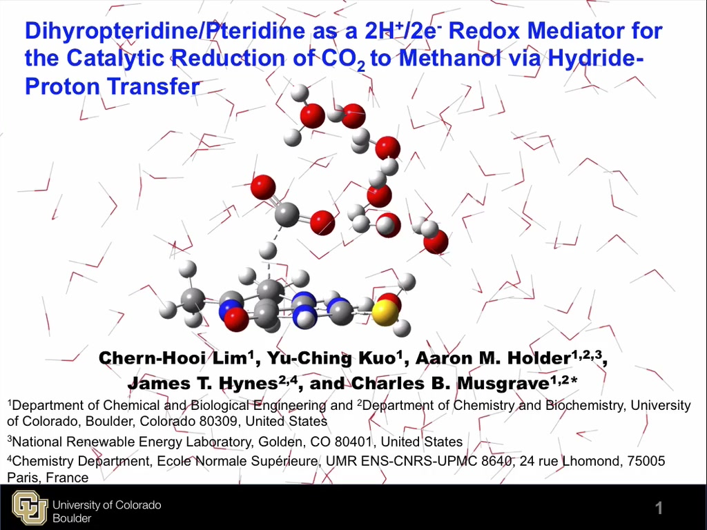 Dihydropteridine/Pteridine As a 2H+/2e- Redox Mediator for the