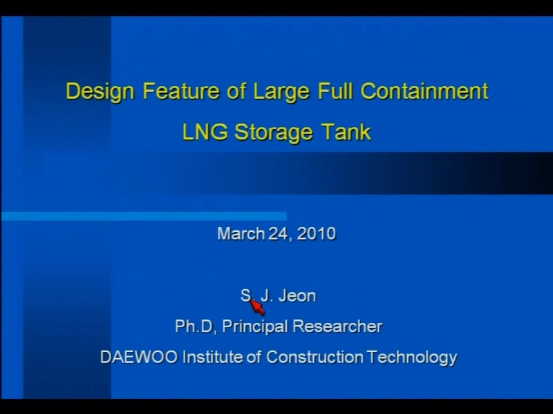 Design Feature Of Large Full Containment Lng Storage Tank