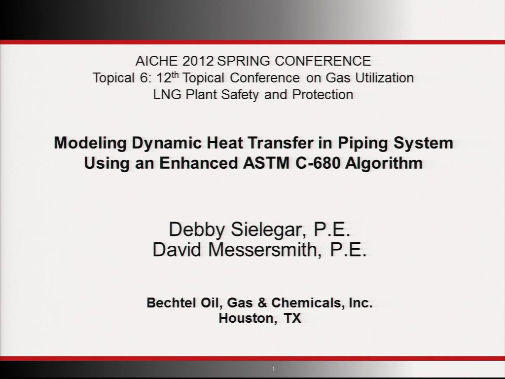 Modeling Dynamic Heat Transfer in Piping Systems Using An