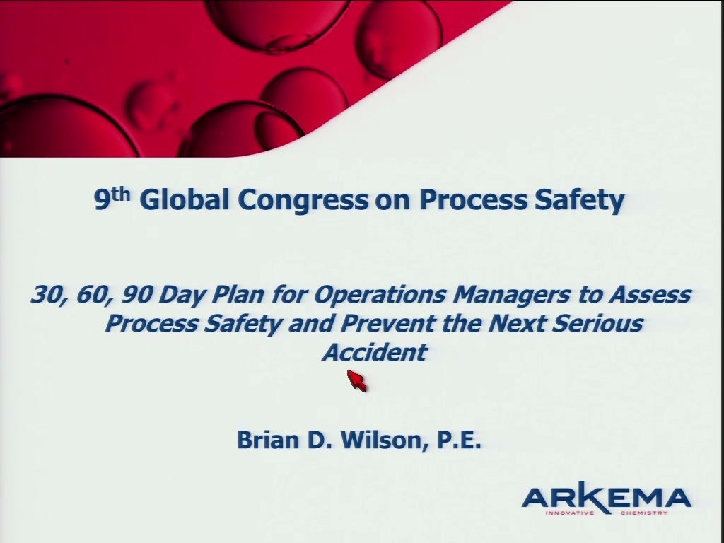 30, 60, 90 Day Plan for Operations Managers to Assess PSM and Prevent ...