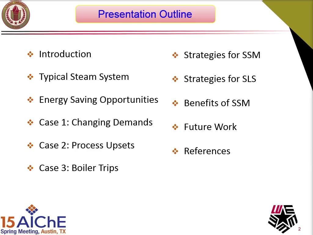 Steam Load Shedding System Design Using Dynamic Simulation | AIChE