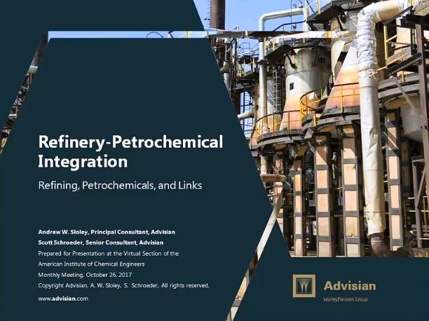 refinery petrochemical integration aiche rh aiche org Petrochemical Refinery Process Chart Petrochemical Refinery Piping