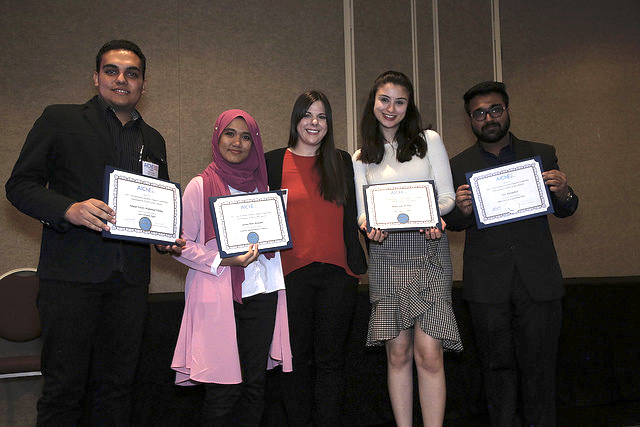 Travel grant awardees