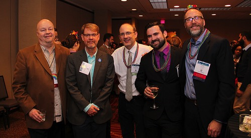 At 2017 LGBTQ+ & Allies Reception