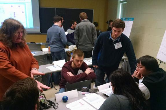 Photo: University of Delaware Student Process Safety Boot Camp in progress.