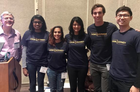 1st place: 2017 ChemE Jeopardy Winners UC Berkely