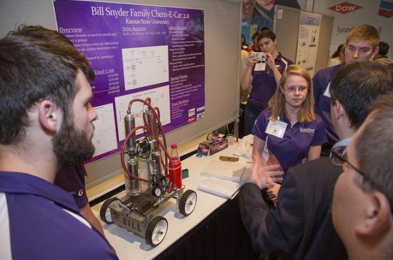 Billy Snyder Family Chem-E-Car 2.0, Kansas State University