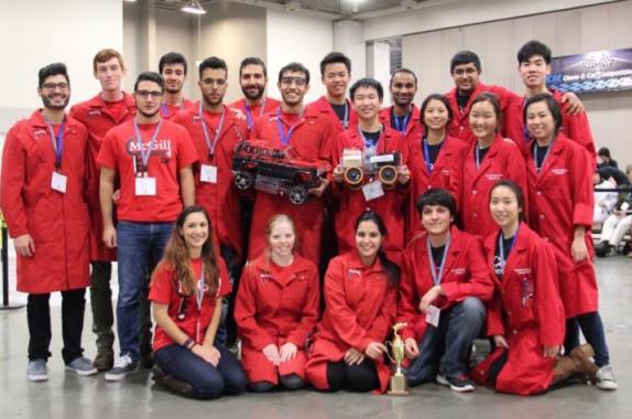 2015 Chem-E-Car Competition®  Winners : McGill University and Cornell University
