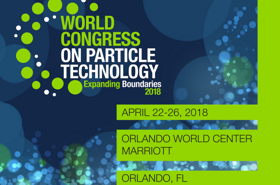 are you ready for the 8th world congress on particle technology now you can build your personal schedule online using the wcpt8 online planner