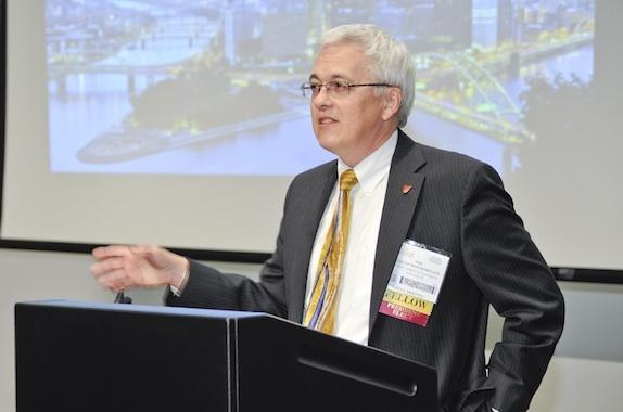 Phillip R. Westmoreland speaking at 2012 Student Award Ceremony.