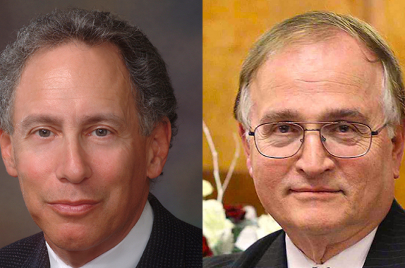 Robert Langer and Nicholas Peppas