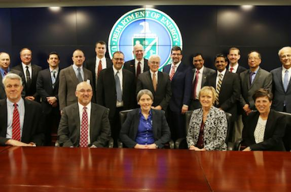 AIChE Rapid team with partners and DOE leaders.