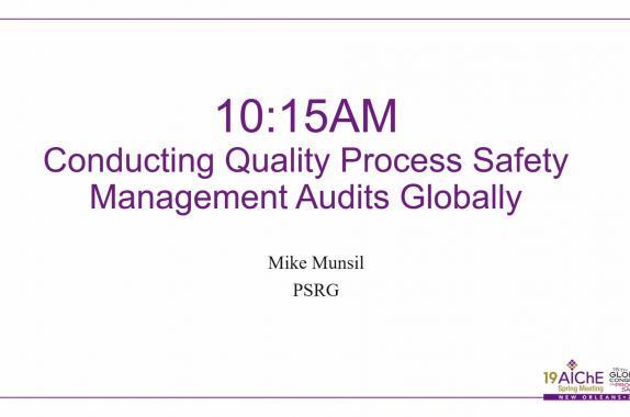 Process Safety Culture | AIChE