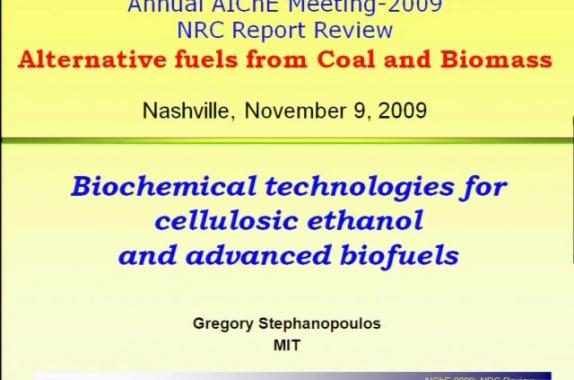 cellulosic ethanol term papers