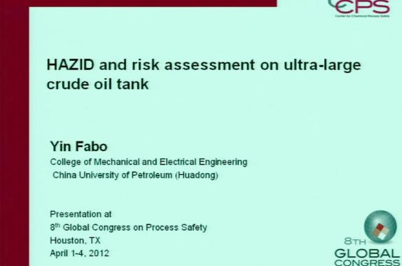 Hazard Identification and Risk Analysis | AIChE