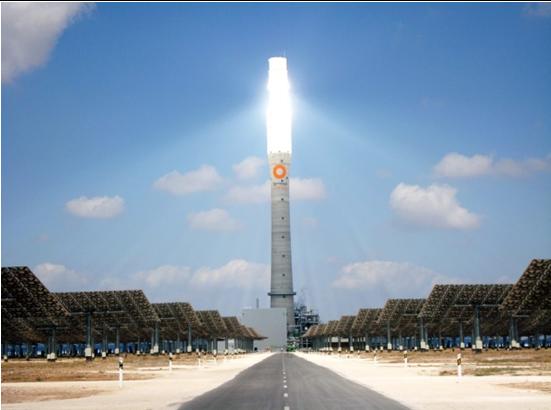 Torresol Energy's Gemasolar CSP plant in southern Spain. [image - NREL]
