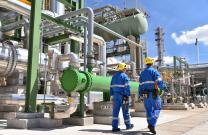Petroleum & Chemical Manufacturing Industry Plant