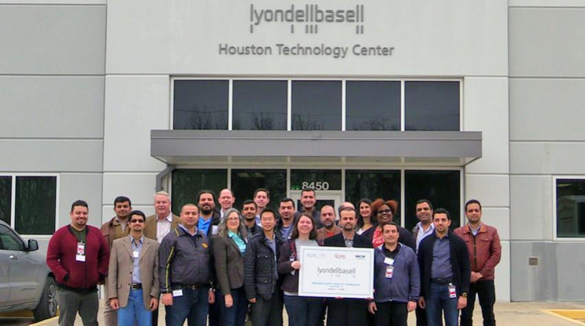 Photo: 2018 LyondellBasell Faculty Workshop