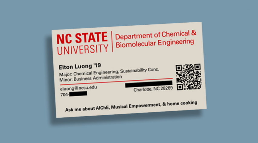 What Makes a Great Business Card? | AIChE