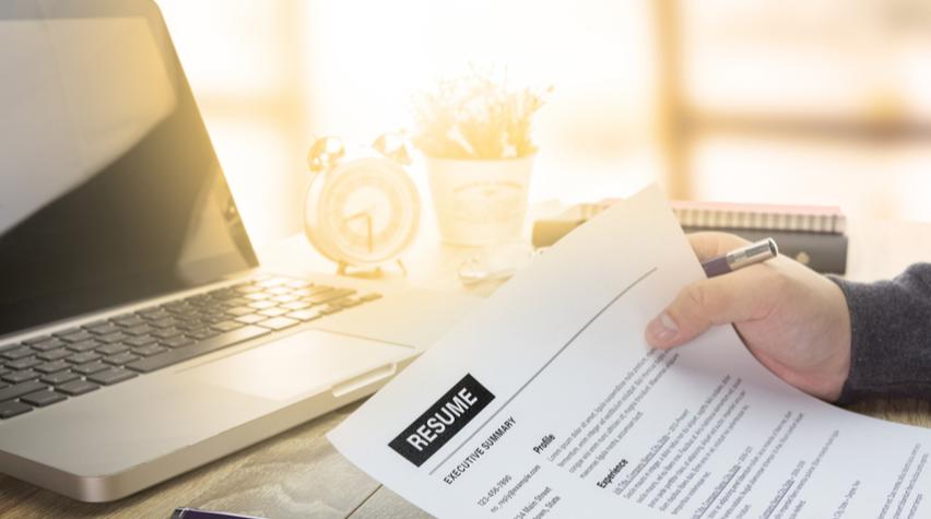 write a résumé that stands out aiche