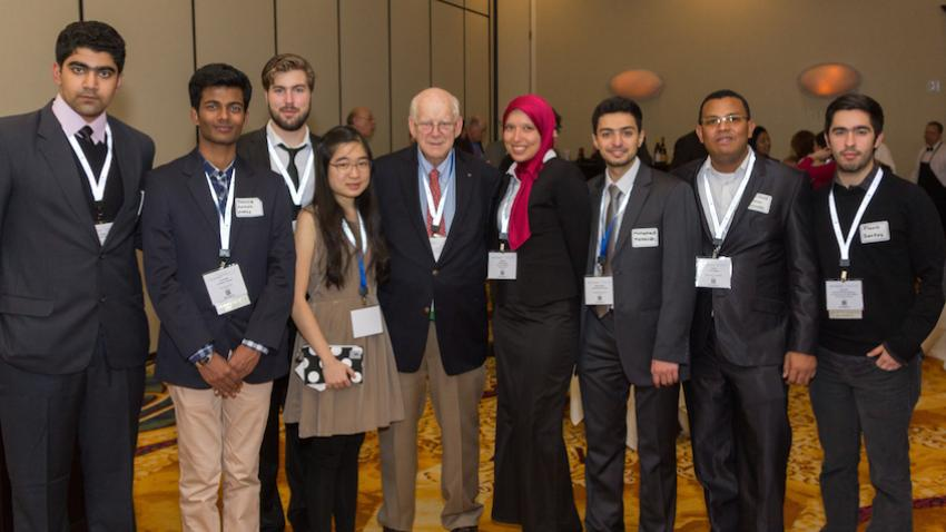 2015 AIChE Annual Student Conference in Salt Lake City with Peter Lederman, AIChE Foundation Chair